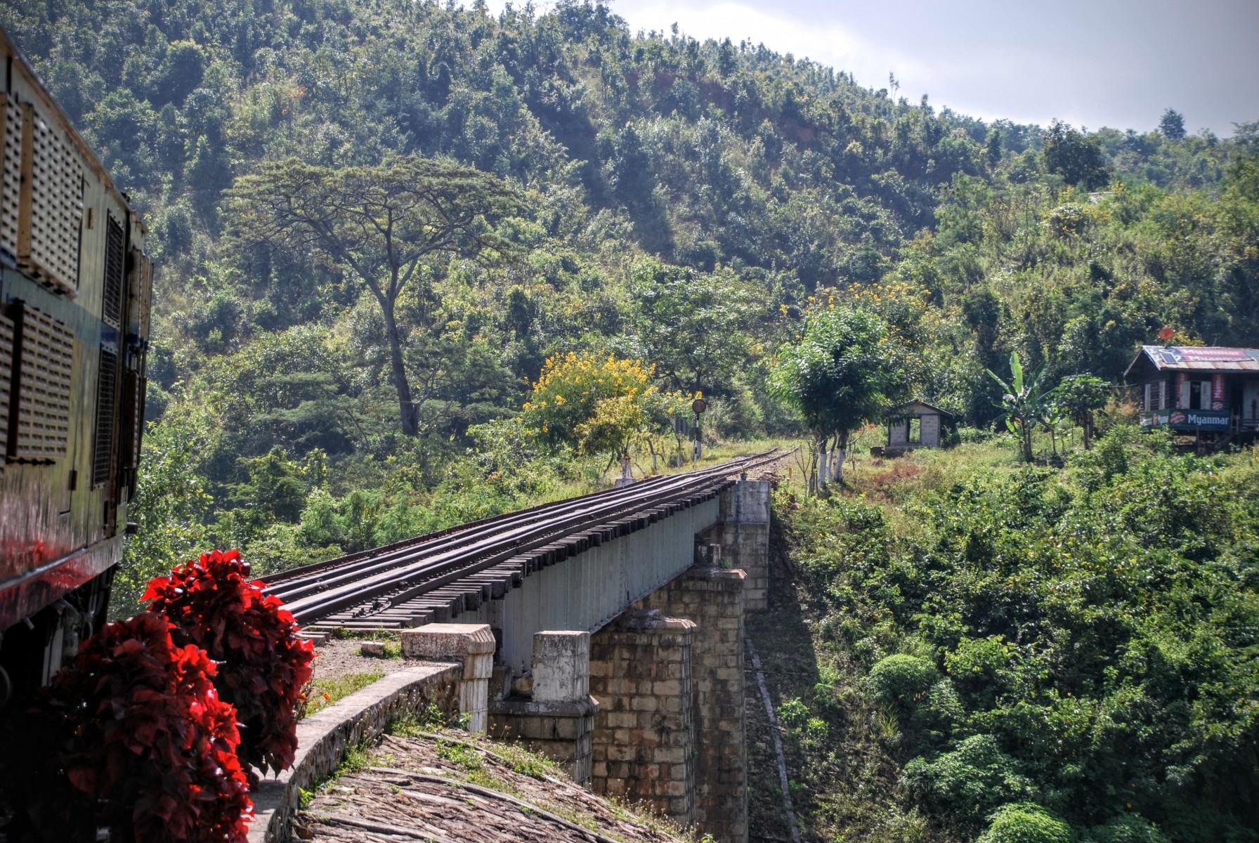 Pociąg Nyaung Shwe - Kalaw
