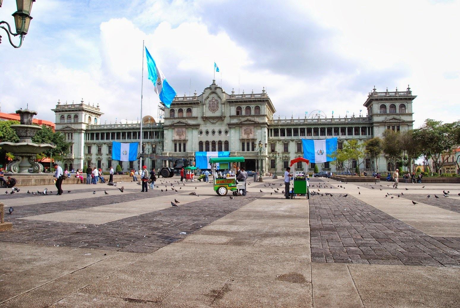 Gwatemala - Gwatemala City - Palacio Nacional de la Cultura