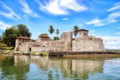 Gwatemala - Rio Dulce - Twierdza San Felipe