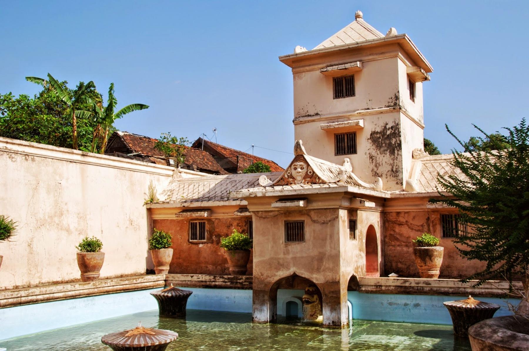 Jawa - Yogyakarta - Taman Sari - pałac wodny