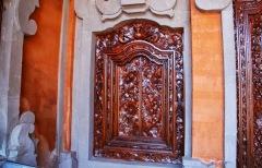 Bali - Ubud - okno w pokoju