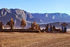Wulkan Bromo - świątynia Luhur Poten