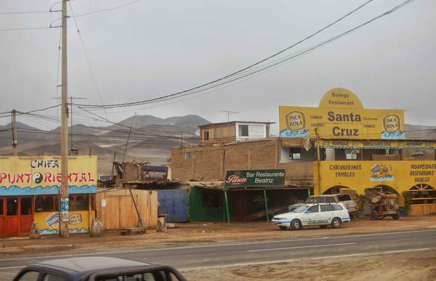 W drodze do Pisco