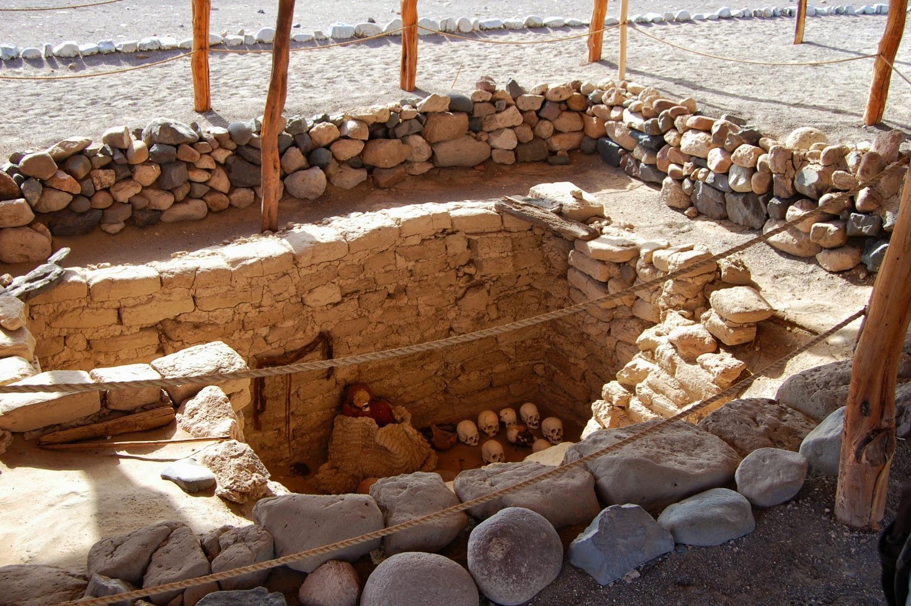 Okolice Nazca - cmentarz Indian Chauchilla