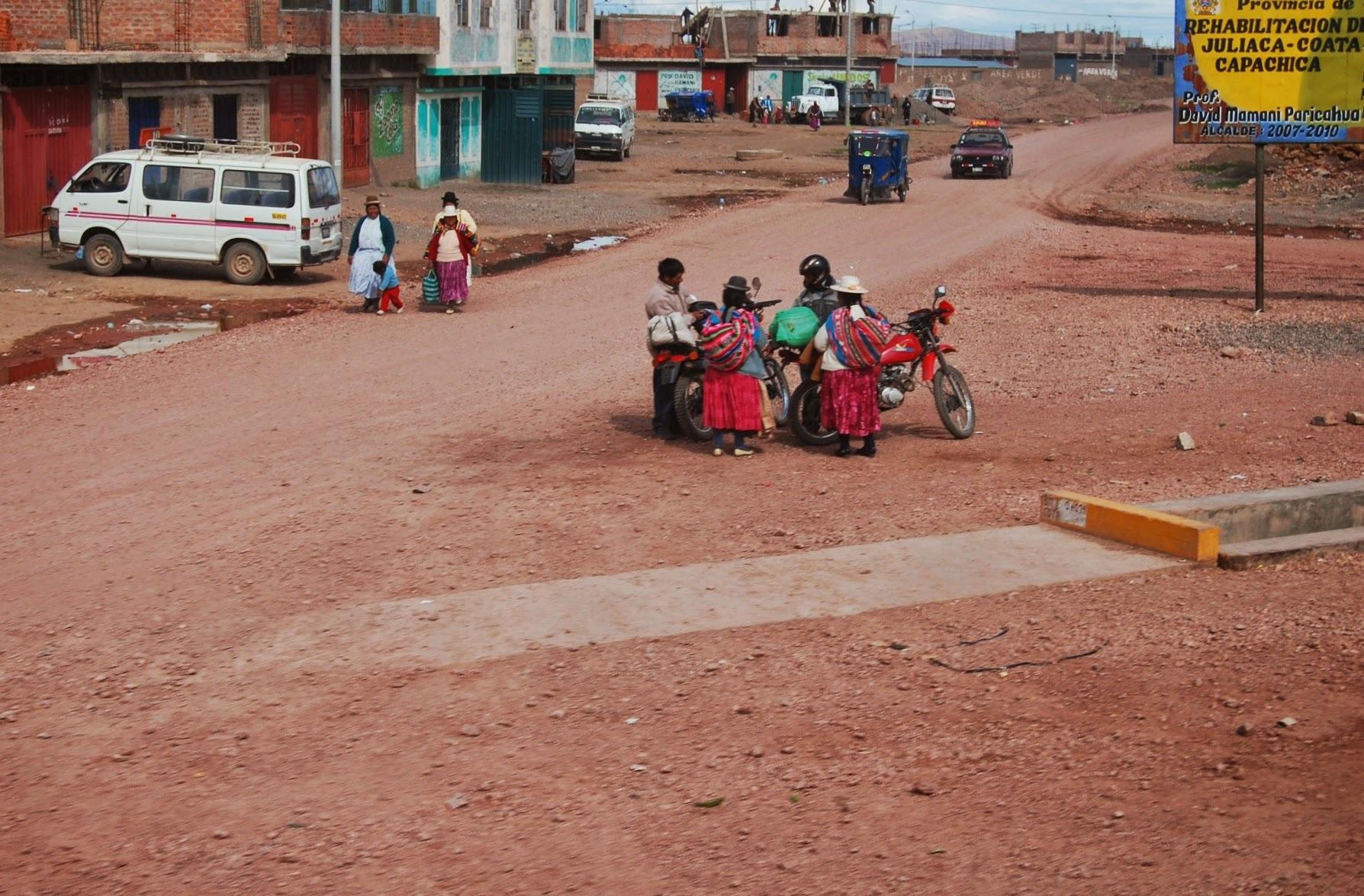 W drodze do Puno