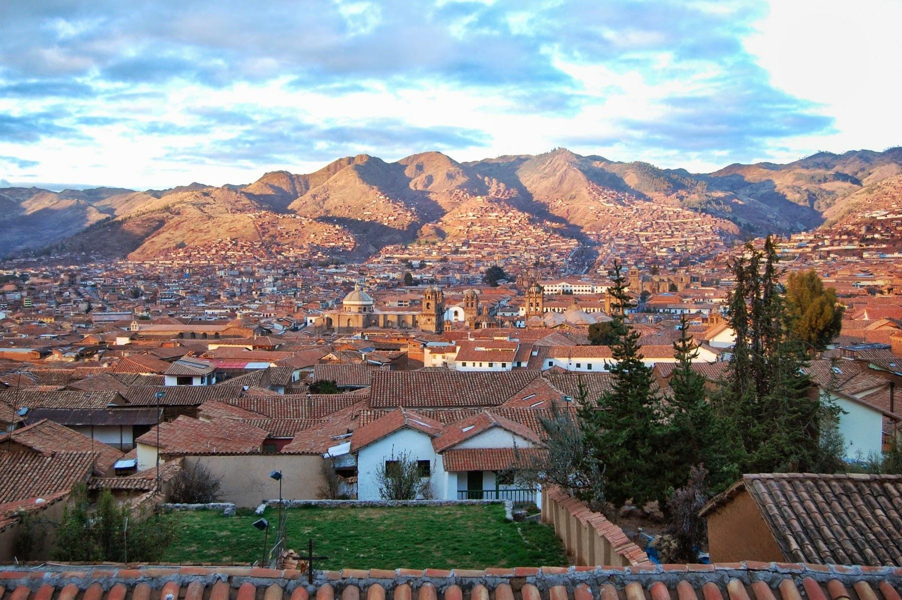 Cuzco o świcie