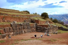 Cuzco - okolice - ruiny Sacsayhuaman