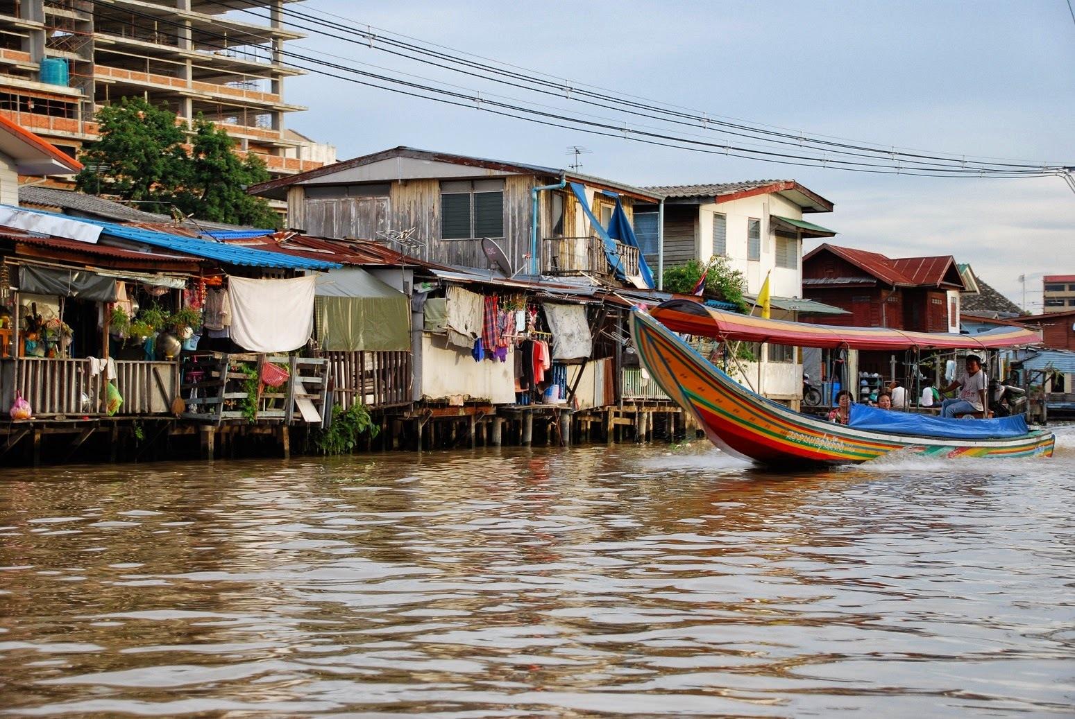 Tajlandia - Bangkok - Kanały