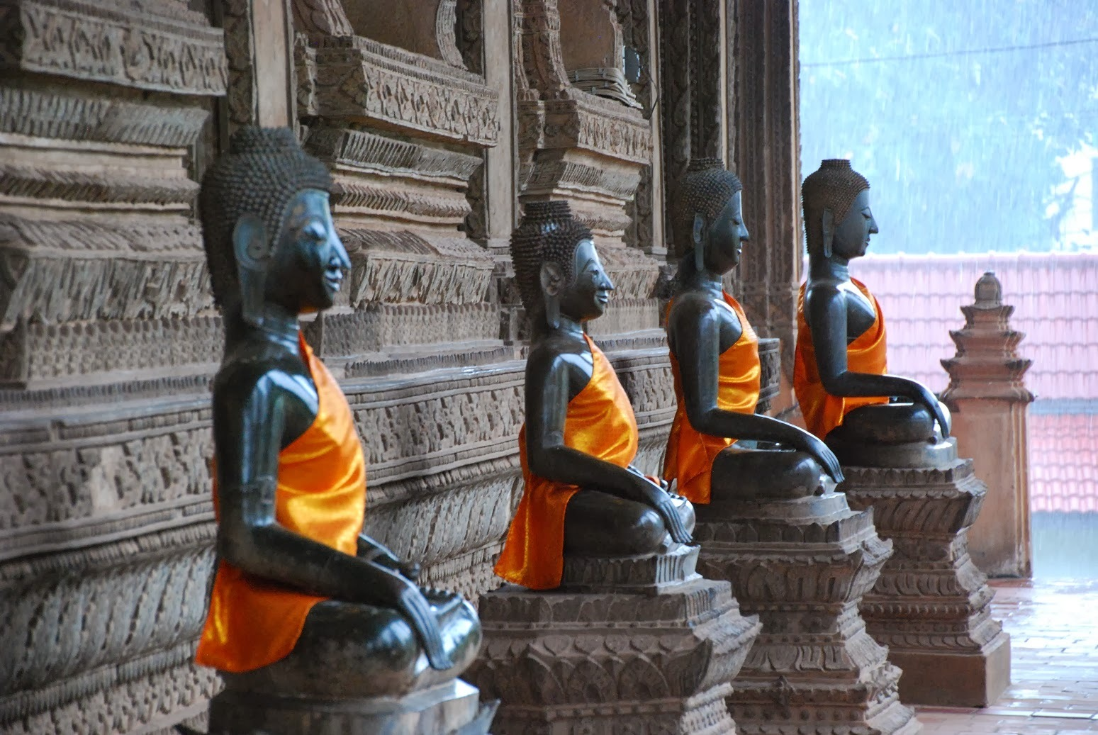 Laos - Vientiane - Wat Ho Phra Keo