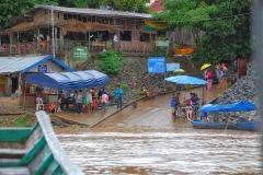 Tajlandia - Chiang Khong - Granica z Laosem