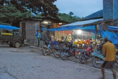 Laos - Mekong - Nocleg w Pak Beng