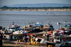 Mandalay - przeprawa do Mingun