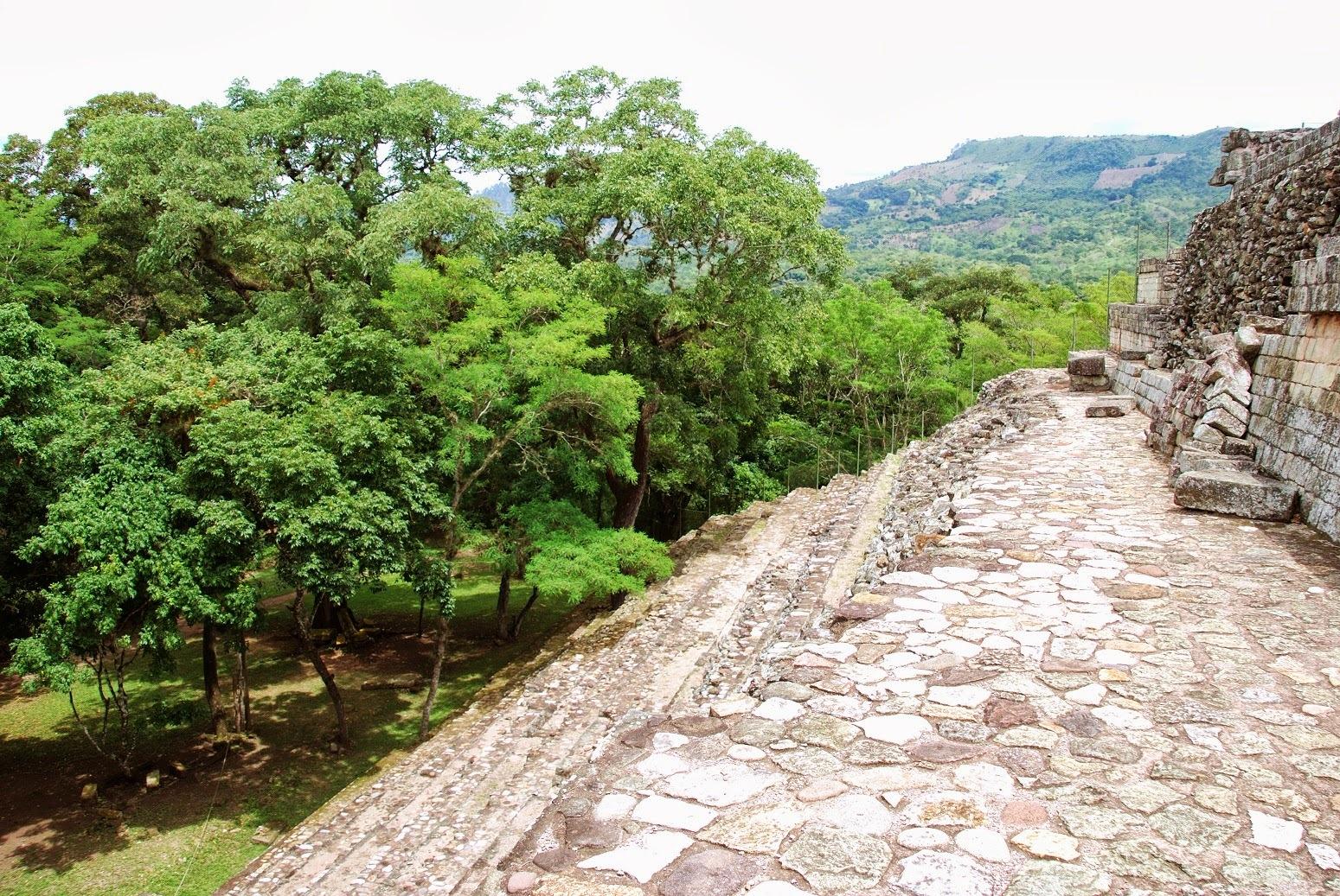 Honduras - Ruiny w Copan