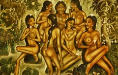 Bali - Ubud - muzeum malarstwa Puri Lukisan