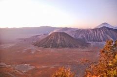 Wulkan Bromo - wschód słońca
