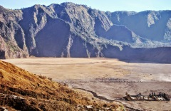 Wulkan Bromo - widok na Luhur Poten