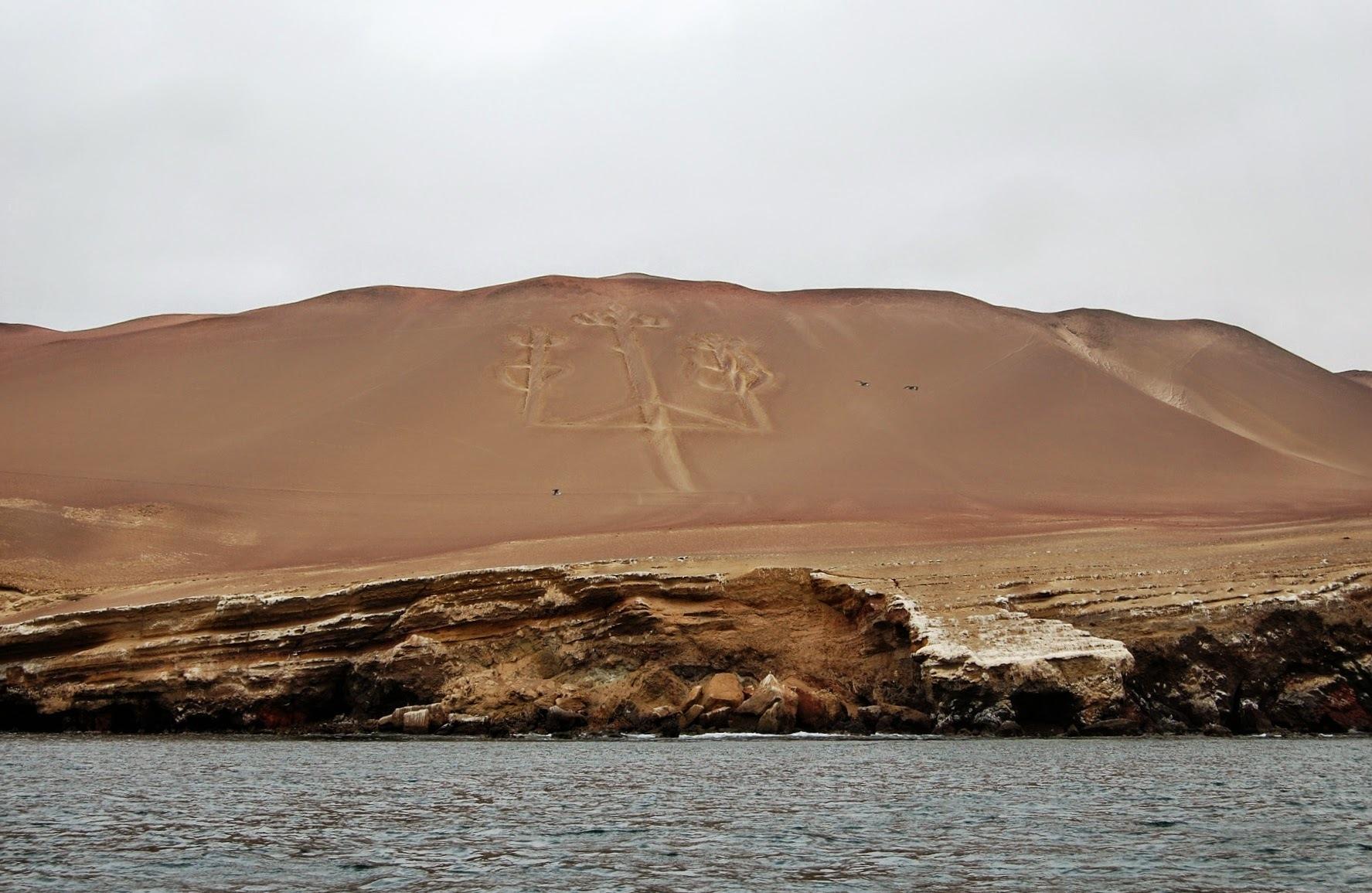 W drodze do Islas Ballestas - El Candelabro