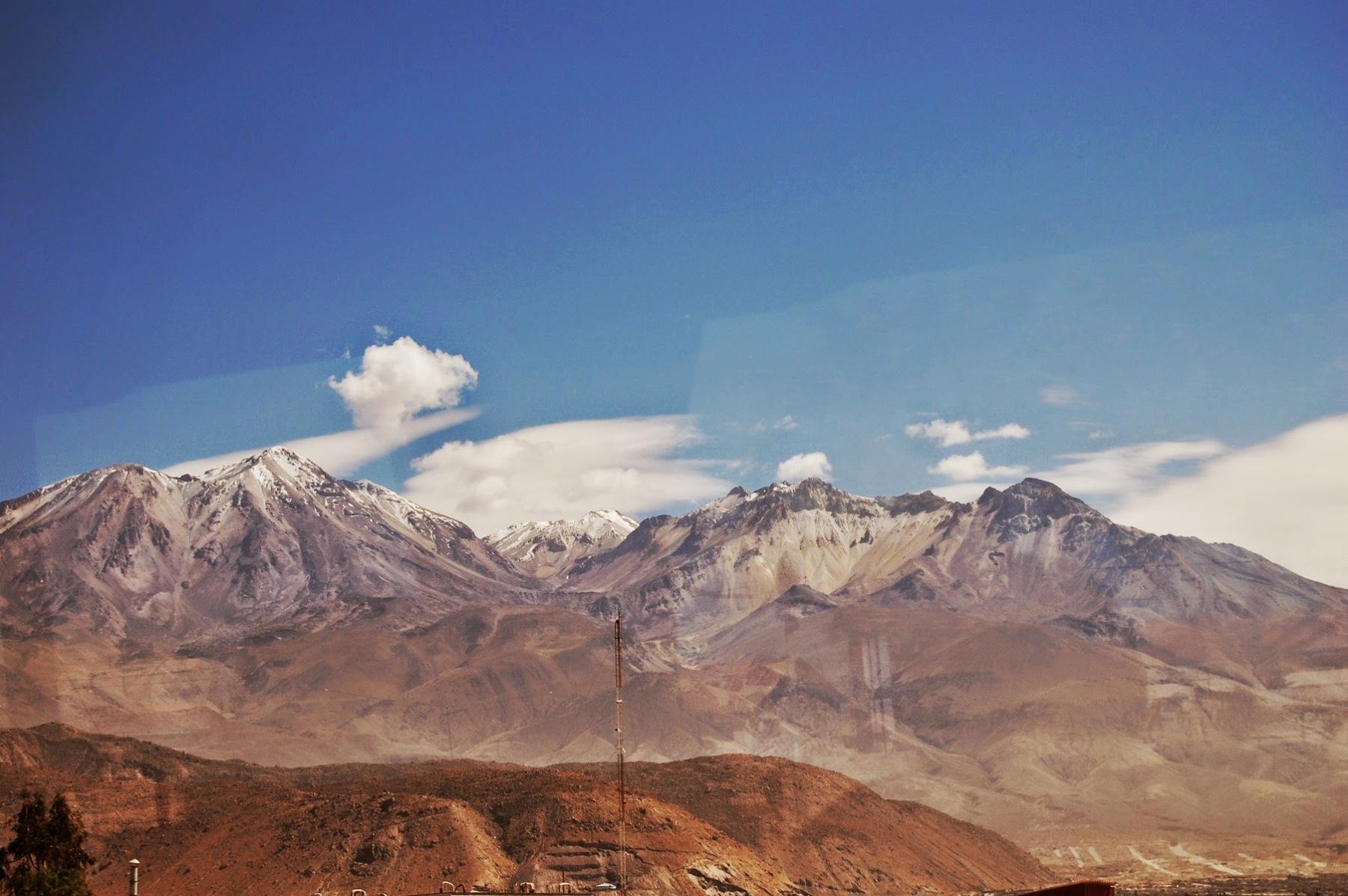 W drodze do Doliny Colca