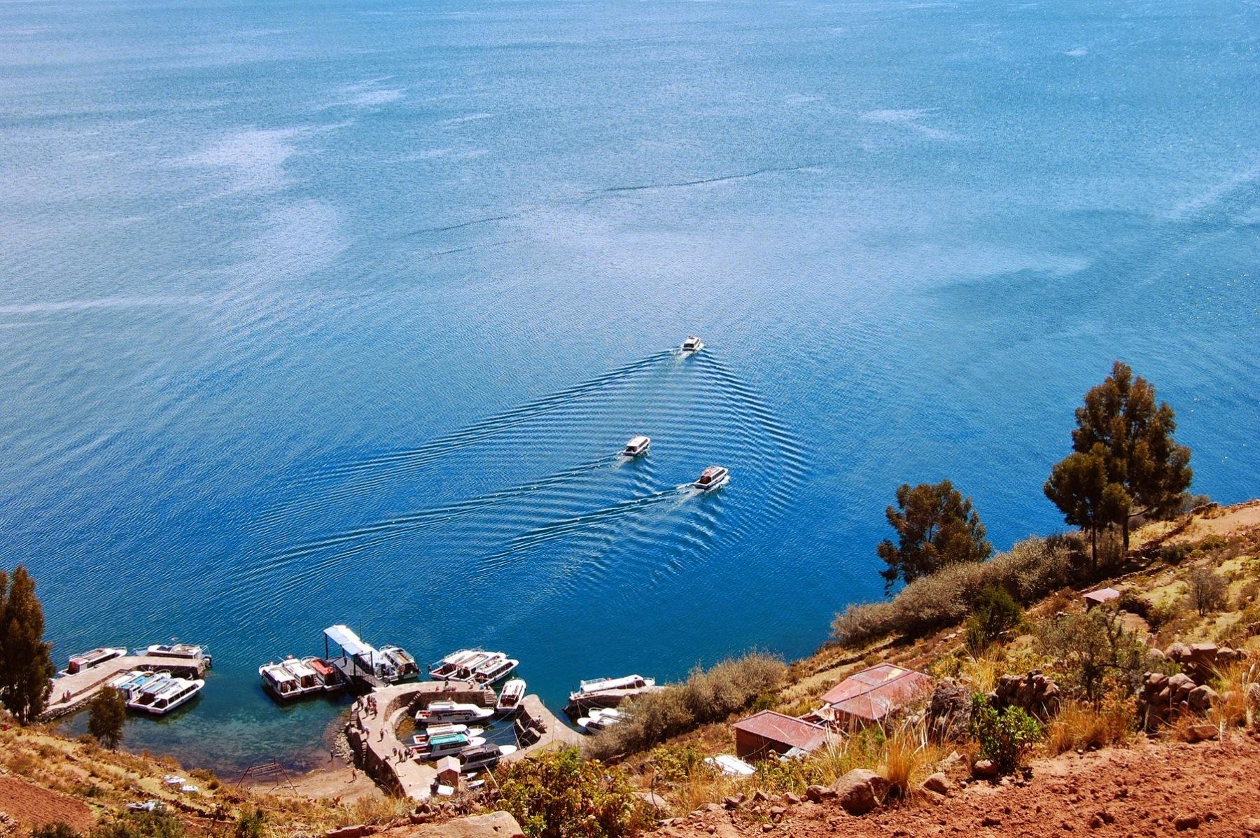 JezioroTiticaca - wyspa Taquile
