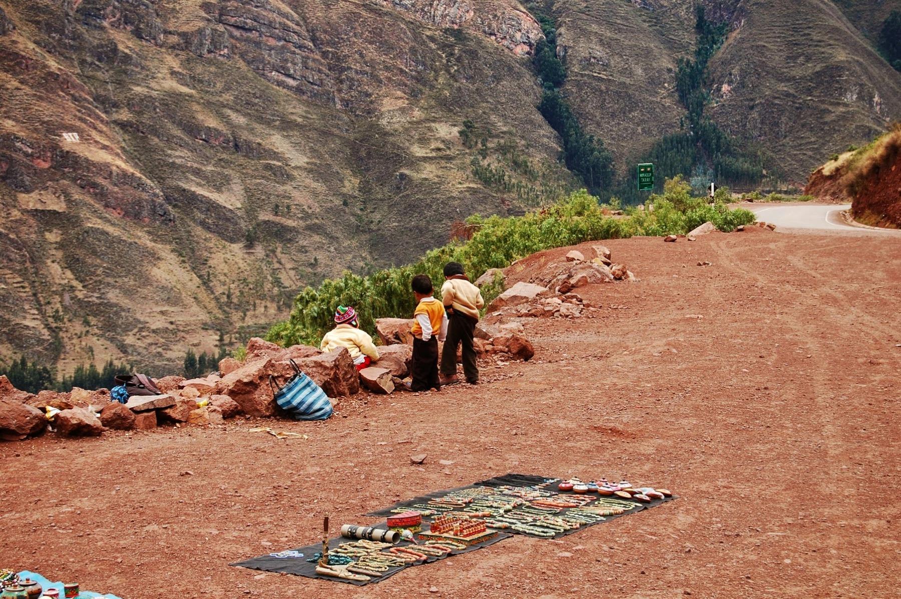Cuzco - okolice - w drodze do Świętej Doliny