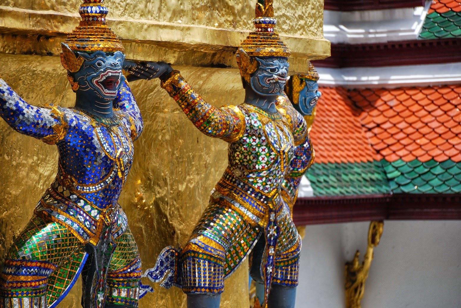 Tajlandia - Bangkok- Wat Phra Kaew