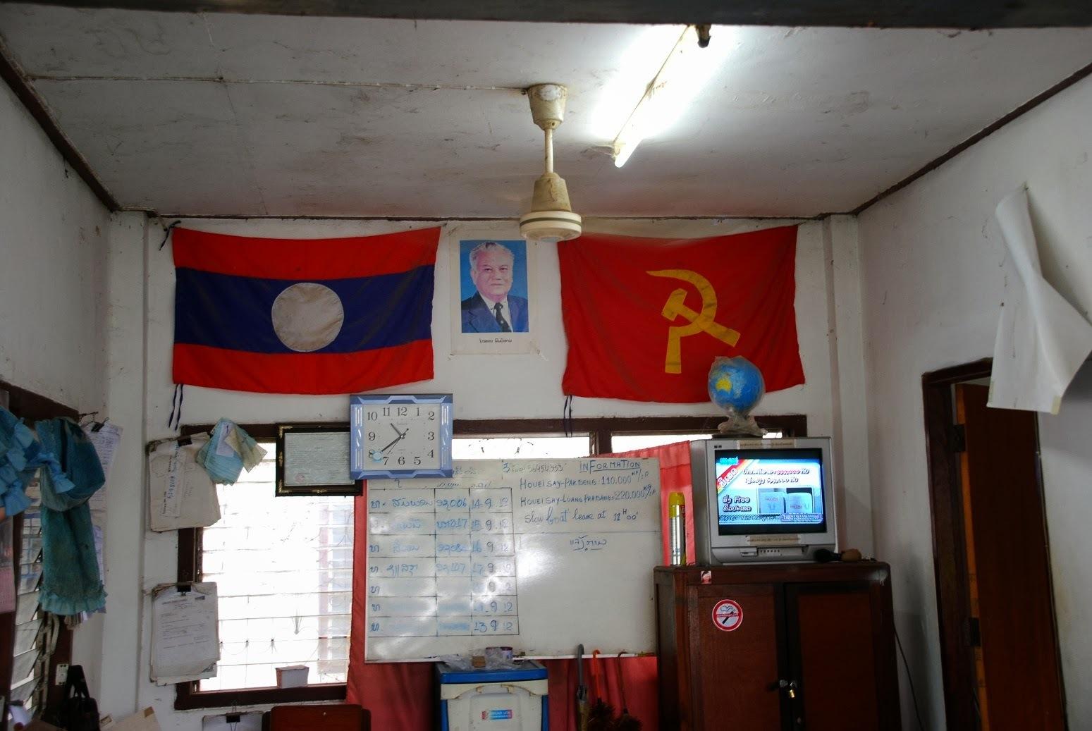 Laos - Houei Xai - Port rzeczny