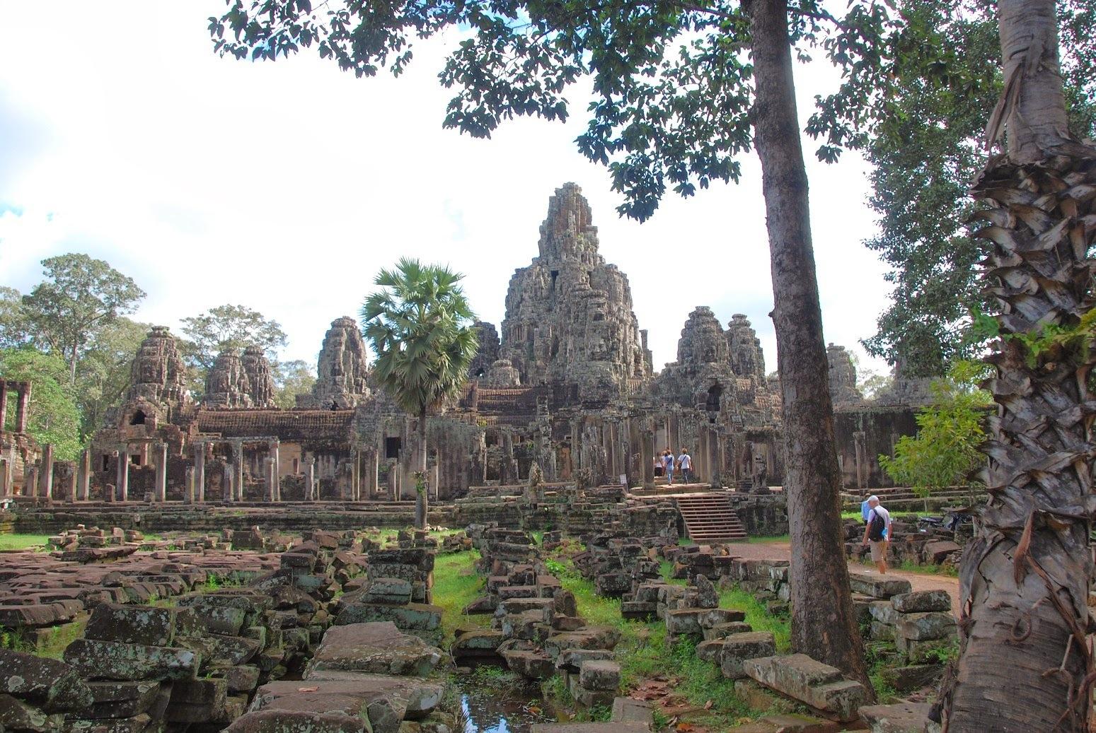 Kambodża - Angkor - Bayon