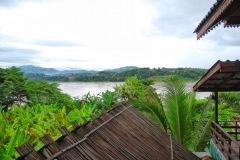 Tajlandia - Chiang Khong - Granica na Mekongu