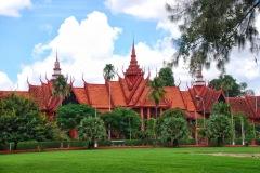 Kambodża - Phnom Penh - Muzeum narodowe