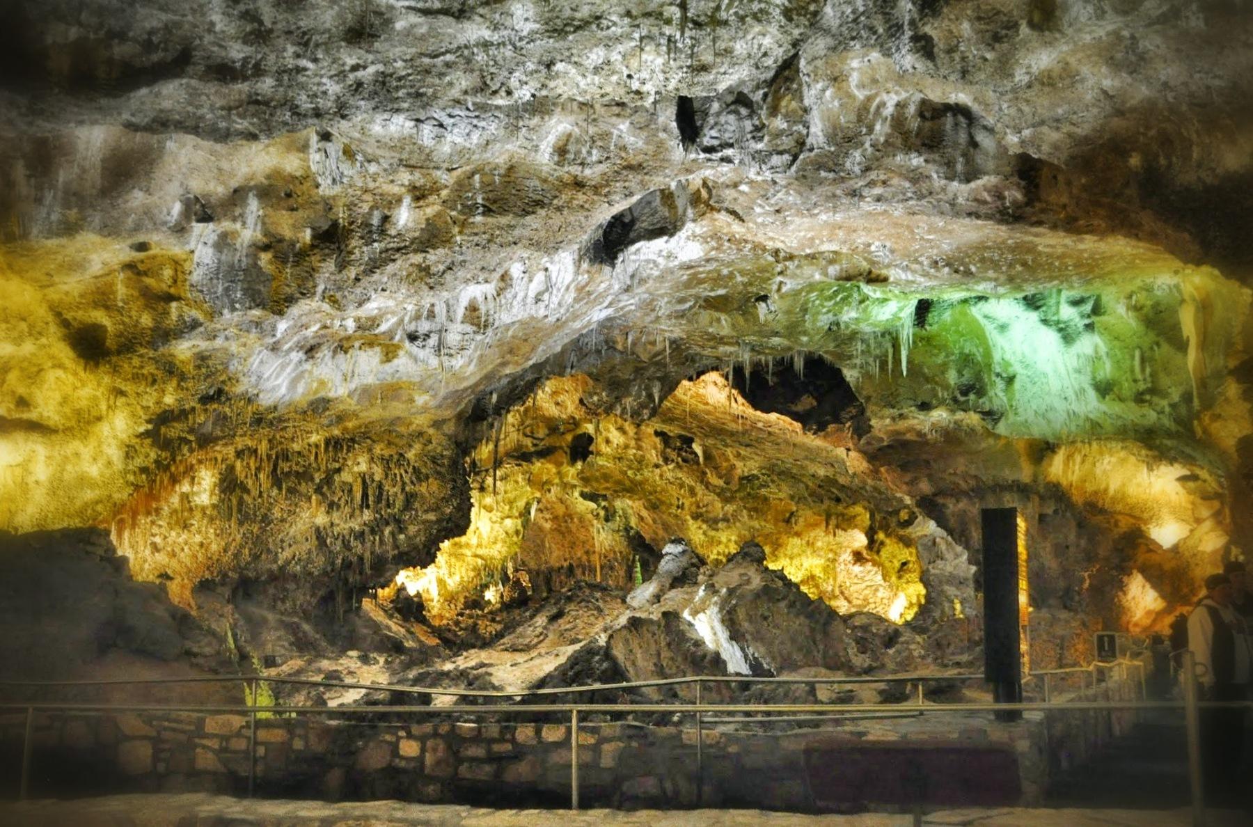 Nowy Meksyk - jaskinie Carlsbad