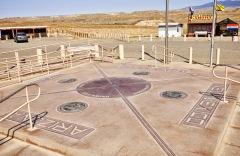 Granica czterech stanów - Nowy Meksyk, Arizona, Utah i Kolorado