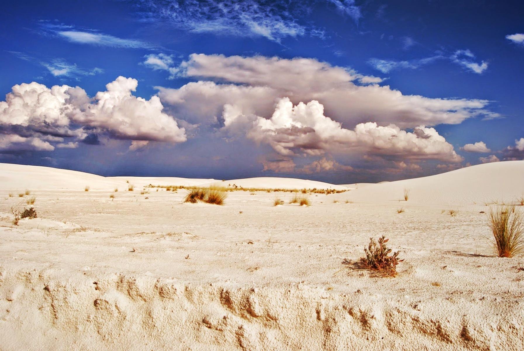 Nowy Meksyk - pustynia White Sands